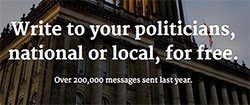 contact your local MP