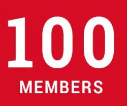 image of 100 members