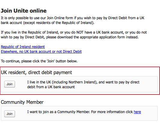 instructions for joining
