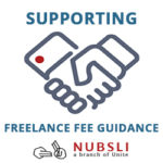 Supporting freelance fees guidance logo